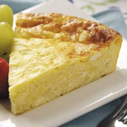 Cottage Cheese Quiche