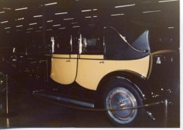 This Bugatti Royal is worth many millions. Photo taken in 1977 at the Harrah collection in Reno Nevada.