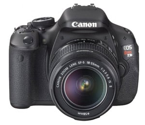 Canon Rebel T3i/600D