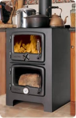 Wood cook stoves, Kitchen Queen and Bakers Oven wood cook stoves