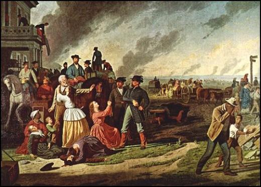 George Caleb Bingham painting (about 1868) depicting General Order  11 (1863)