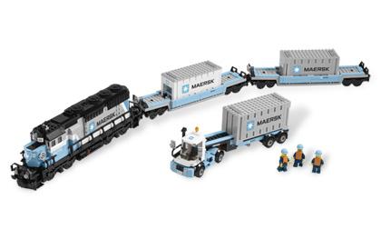 Lego Maersk Train
