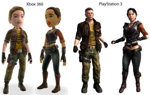 Avatars For Xbox and PS3