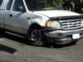 Front damage--wide shot