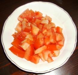 Fresh Cut Red Pepper