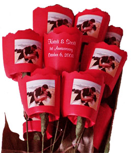 Paper Roses - Paper Anniversary Gift