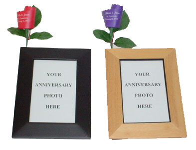 Anniversary Frame and Paper Rose