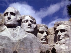 Mount Rushmore and the Red Dog Saloon