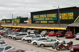 Wall Drug had everything but drugs.