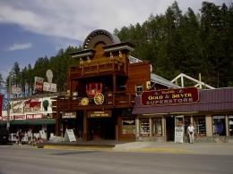 Tourist store in Keystone,SD