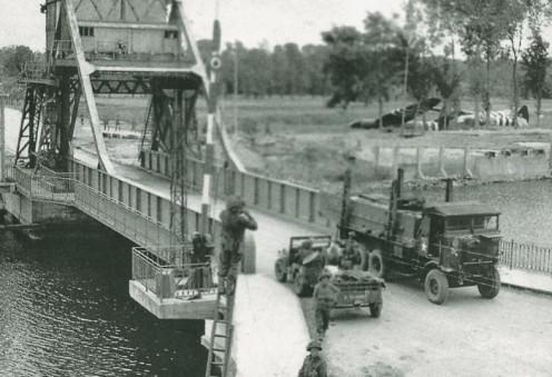 Pegasus Bridge in 1944