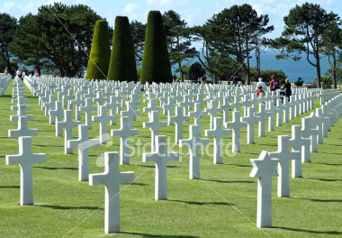 The American cemetary at Normandy