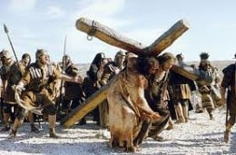 He walked the road to Calvary for me