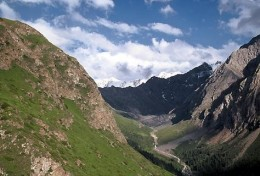 Tian Shan Mountain Valley