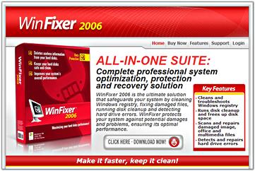 WinFixer Ad