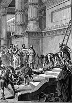 Hezekiah removed the bronze serpent of Moses from the Temple