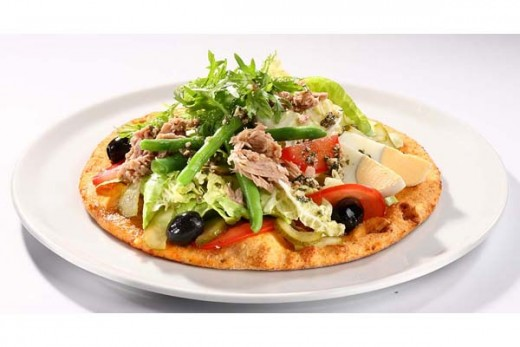 Tuna Salad Pizza