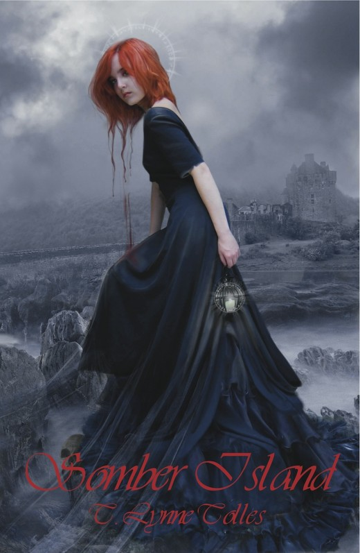 "The beautiful artwork of ""Somber Island"" by T. Lynne Tolles is a perfect example of the imaginitive, striking worlds encaptured in supernatural novels."