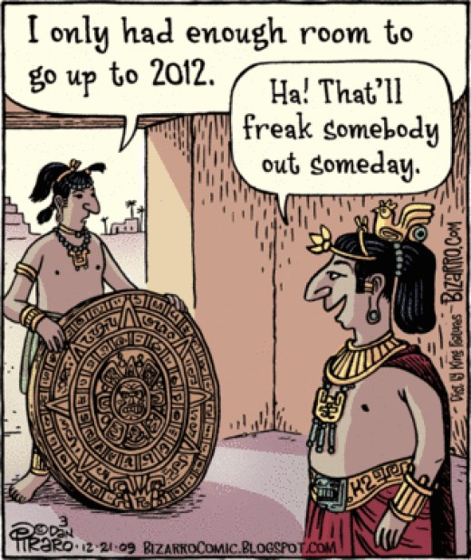 Why Mayan Calendar ends in 2012