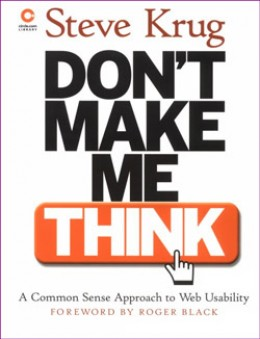 Steve Krug's Ground Breaking Book on Usability