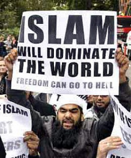 ISLAM WILL CONQUER THE WORLD.