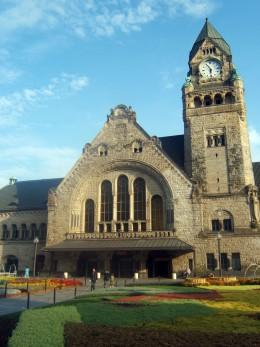 Metz railroad station