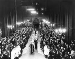 King George VI Wedding to Elizabeth I in 1923