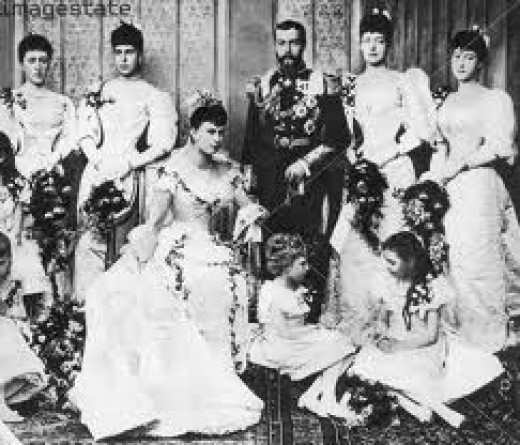 King George V  Wedding to Queen Mary 1893