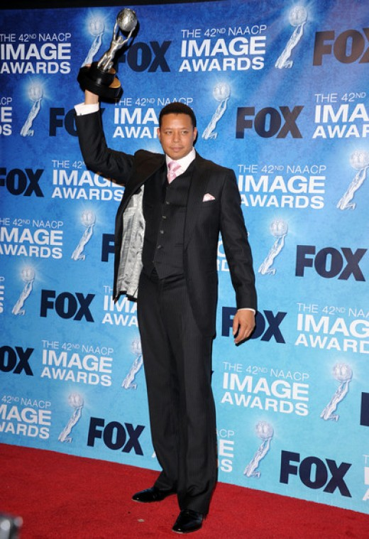 Terrence Howard in the press room at the NAACP Image Awards 2011 ceremony (42nd Annual) photo credit: zimbio.com