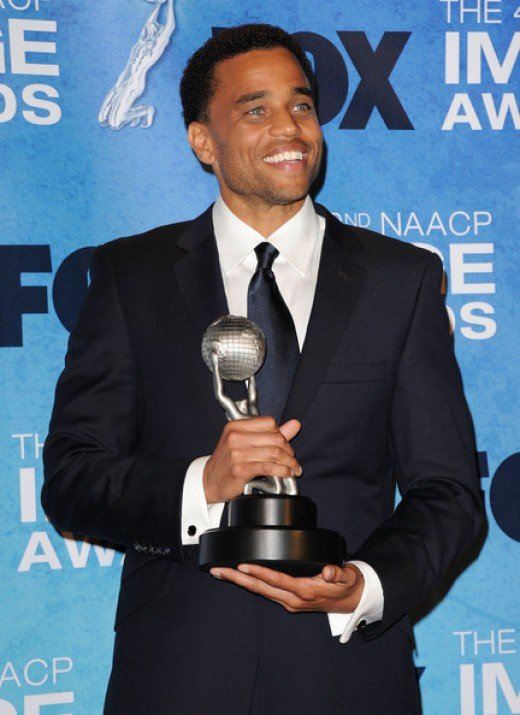 Michael Ealy at the 42nd Annual NAACP Image Awards photo credit: zimbio.com
