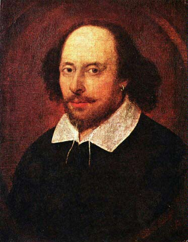 William Shakespeare - Chap who wrote plays and poems and lots of words and things like that.