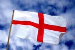 The Cross of Saint George - the English flag