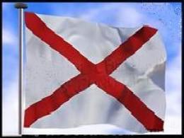 The Cross of Saint Patrick - the Irish flag