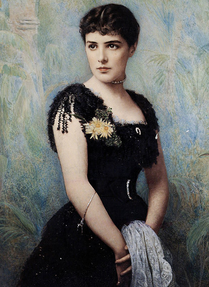 Lady Randolph Churchill - mother to the Great Wartime Prime Minister of the UK, Winston Spencer Churchill - Lady Randolph was an American