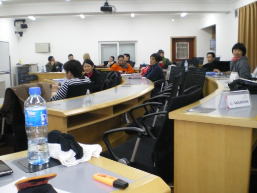 USST Classroom for BICIS 2010
