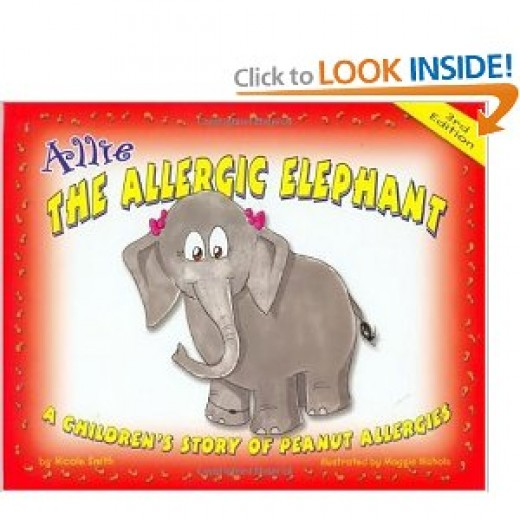 Cover from Allie the Elephant