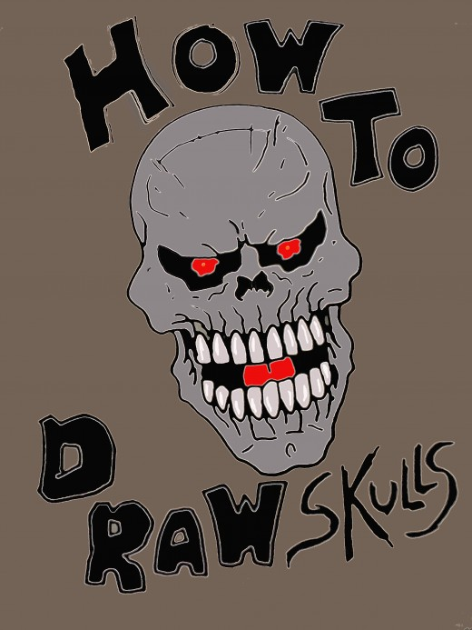 Drawing skulls ebook.