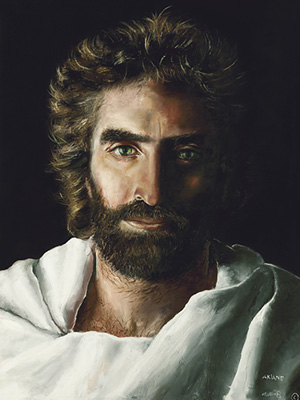 """""""Prince of Peace"""" by Akiane   Colton was shown many images of Jesus, but there was always some detail not quite right. This one was right."""