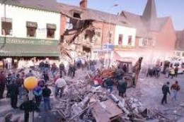 Shankill Rd bomb. John Lennon Supported the murderers of nine people here.