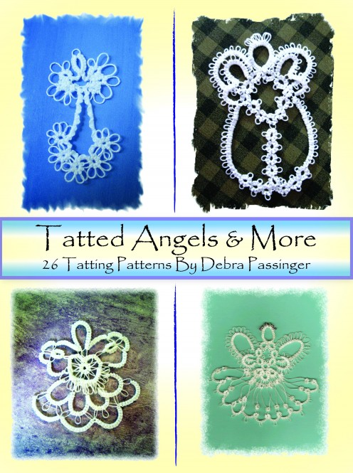 "These patterns came from the Lord. I prayed and He answered! It has 49 pages, 14 angels, 3 crosses, 3 snowflakes, 2 hearts, earrings, penguin, fish, photo frame patterns with black and white photos of each. 8.5"" x 11"" book.  Published June 30,201"