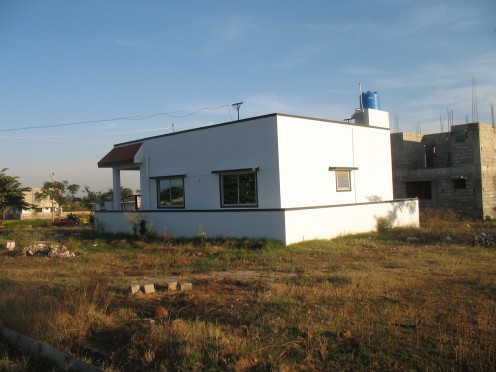 A Villa kept Vacant.