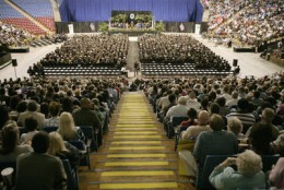 Arco Hosts a lot more than Just Basketball Games (Sac State Graduation)