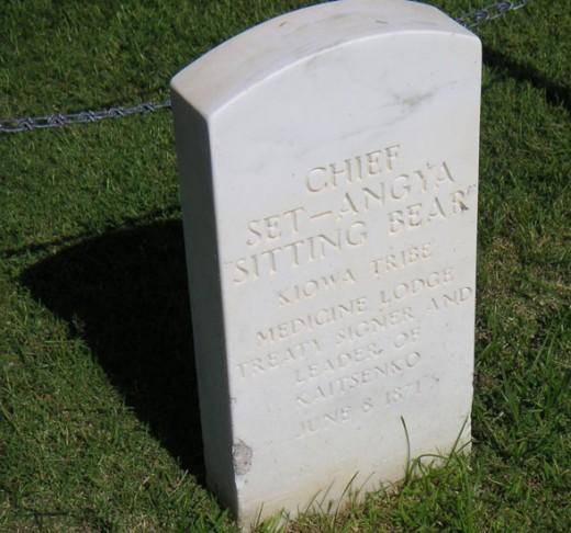 Memorial Grave of Satank