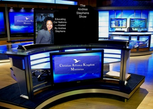 "Andrea Lady Phenomena Stephens Presents Her Christian Telecast--""Educating Our Nations"""