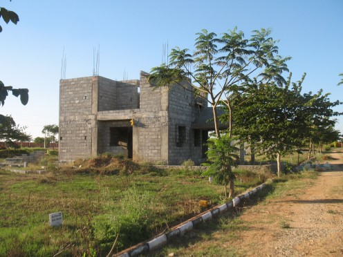 Under Construction Villa.
