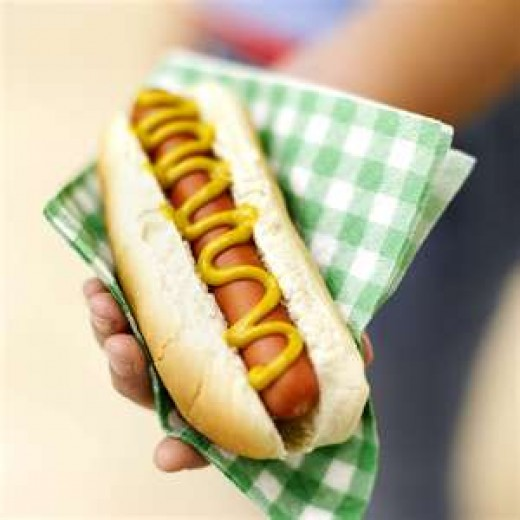 A hotdog is the pencil of fast food. Mustard is the ink. Your face is the page. Now write a masterpiece.