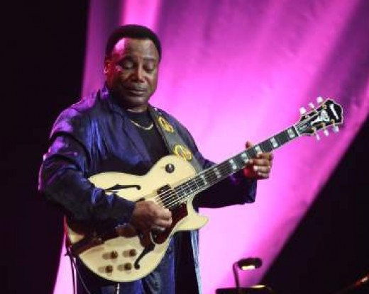 George Benson in action