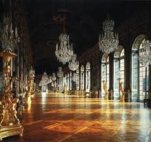 Hall of Mirrors Versailles.