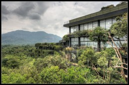A green side of the Five-Star ecolodge