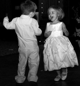 Dancing is enjoyed throughout the age spectrum.